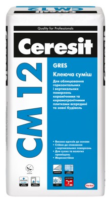 Ceresit CM-12 Клей для керамограніту