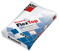 Baumit Flex Top клей для плитки на поверхні з електричним підігрівом